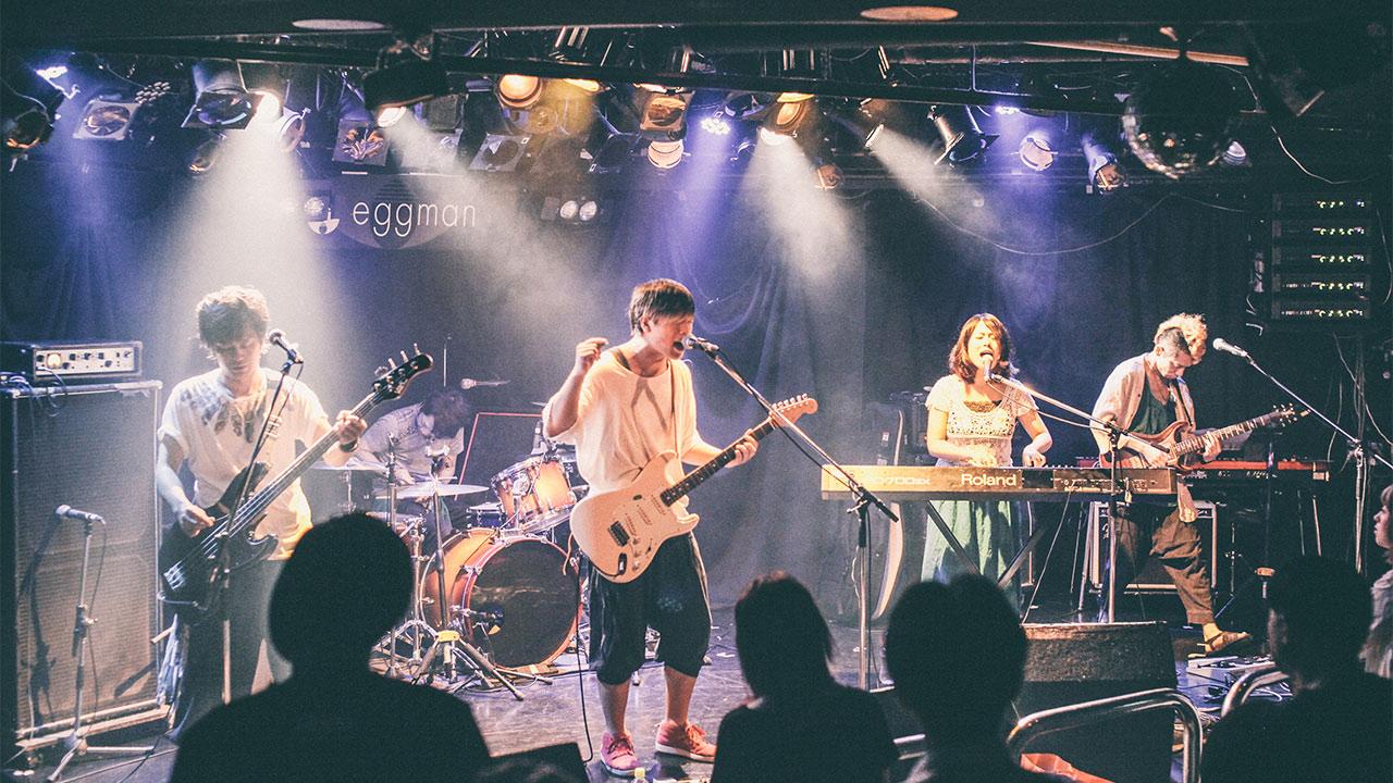 2016年8月12日渋谷eggmanにてアマオトでライブしてきました