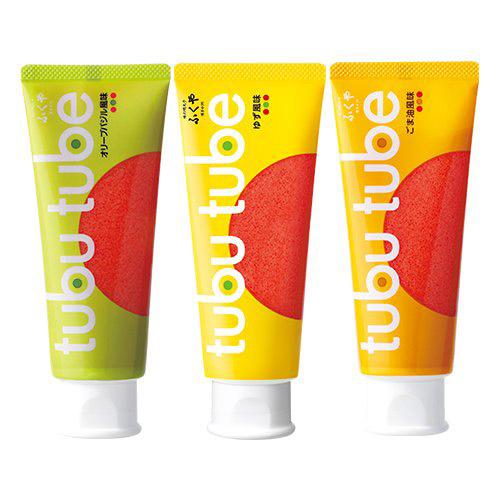 博多中洲ふくや tubu tube(ツブチューブ) (3本セット(ごま油風味/オリーブバジル風味/ゆず風味))のサムネイル画像