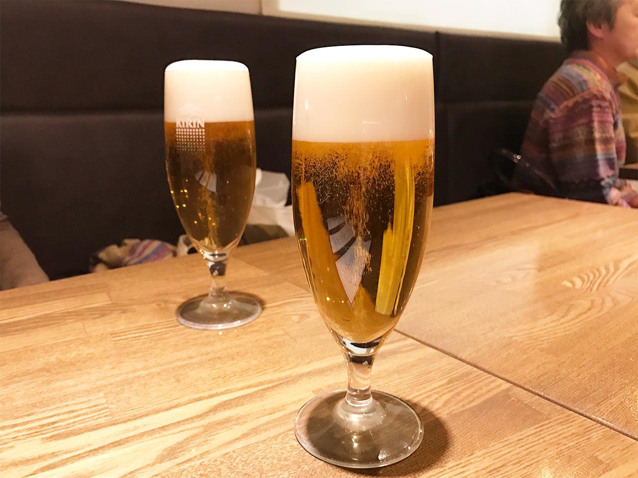武蔵小山「Shinori(シノリ)」の生ビール