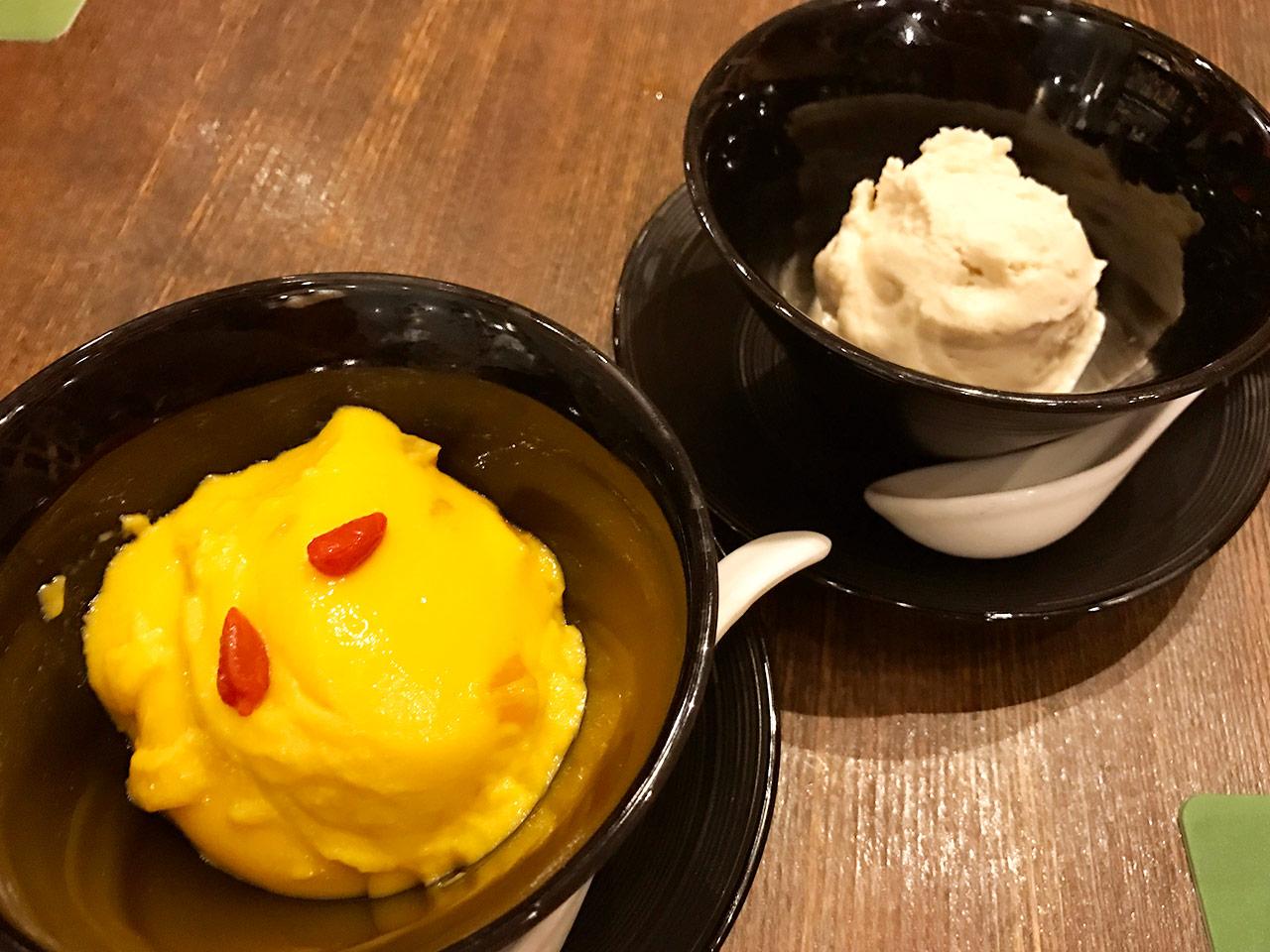 麻布十番「ダリアン」のデザート