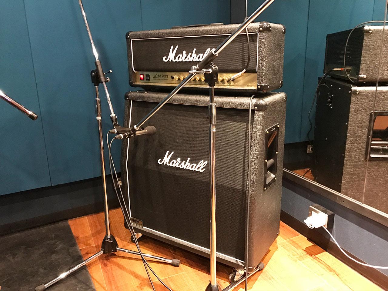 リハスタでギターのアンプ録りしたときのアンプ