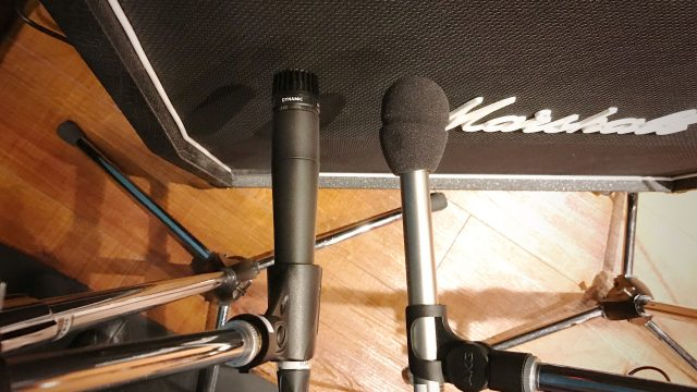 リハーサルスタジオでギターのアンプ録りをするときに気をつけるべきこと