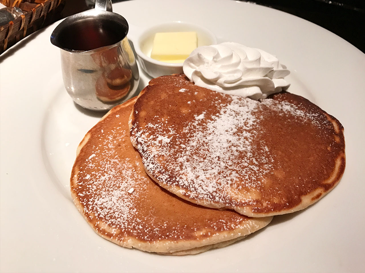ニューイングランドカフェのパンケーキ
