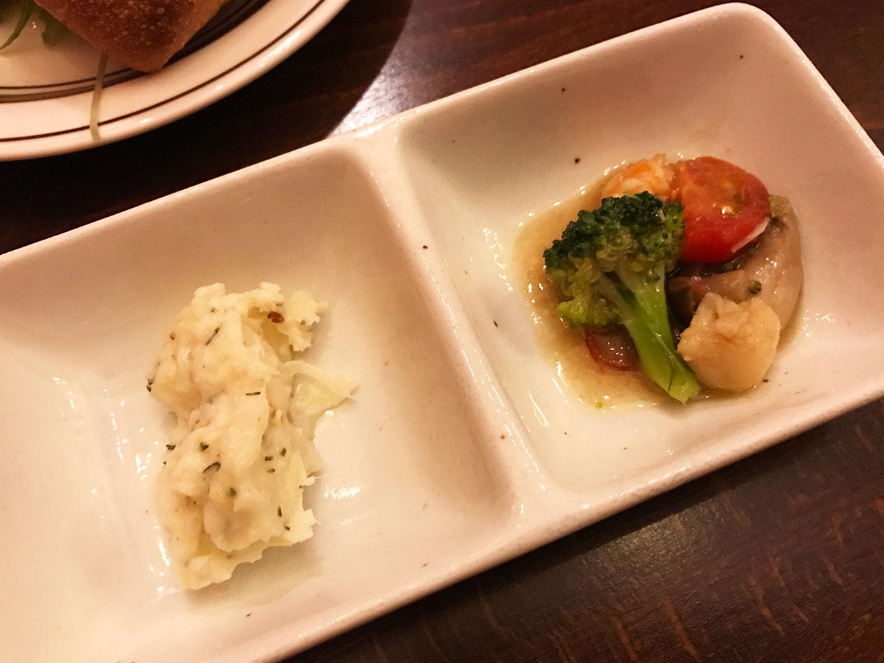 池尻大橋のイタリアン「Comodo Kitchen(コモドキッチン)」の前菜