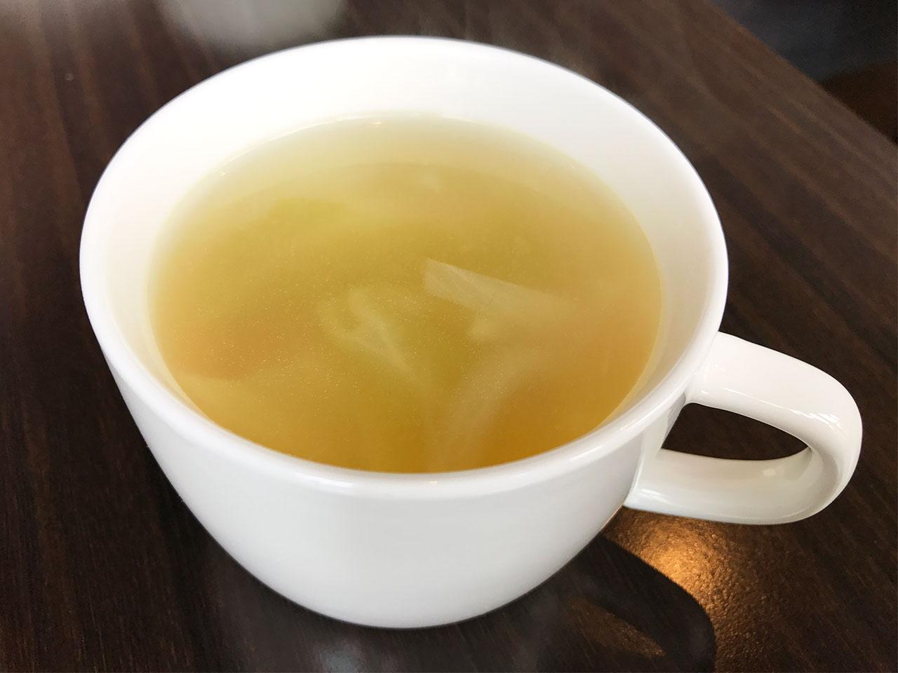 馬車道の「goichi」のスープ
