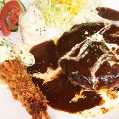 【閉店】馬車道のダイニングバー「goichi(ゴイチ)」のランチがうまい!ハンバーグ&海老フライ最高でした!