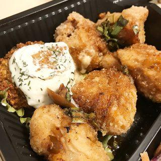 武蔵小山「なぎ食堂」の野菜だけのお弁当がうまい!ソイミートのから揚げが絶品!