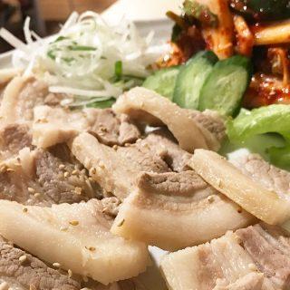 武蔵小山「釜山広場」で韓国料理を堪能!ポッサムがうまかった!
