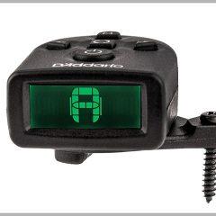 ヘッドの裏側に隠れるダダリオのチューナー「NS Micro Clip Free Tuner PW-CT-21」が使いやすそうでいい感じ