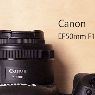 キャノンの撒き餌レンズ「EF50mm F1.8 STM」が1万円台と思えないコスパの良いレンズ!初めてのレンズに最適!