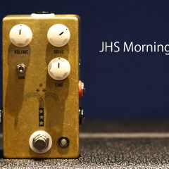 Marshal系の歪みエフェクター「JHS Morning Glory」が優秀すぎる!弾いていて気持ちいいオーバードライブ!
