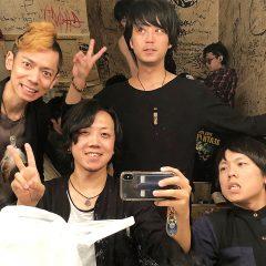 2018年5月14日渋谷eggmanにてアマオトのライブ!新曲「コングラッ!」が馴染んできました!
