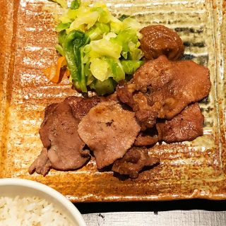 赤坂「黒座暁樓」でランチ!炭火焼の牛タン定食がうまかった!