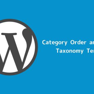 WordPressのカテゴリーをドラッグ&ドロップで並べ替えられるプラグイン「Category Order and Taxonomy Terms Order」が便利