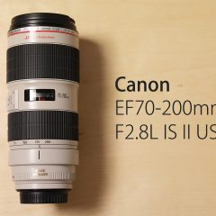 Canonの大三元レンズ「EF70-200mm F2.8L IS II USM」を購入!