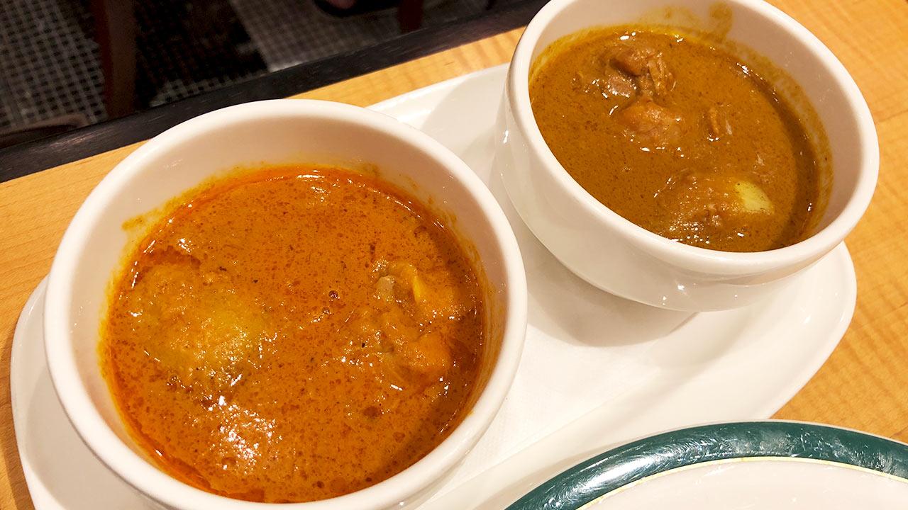 新宿中村屋マンナで純印度式カリーとコールマンカリーを食べてきた!