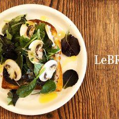 武蔵小山「LeBRESSO」のトーストがうまい!ツナとフレッシュマッシュルームのトーストを食す!