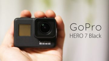 GoPro HERO7 Blackを購入!手ぶれ補正機能がめちゃめちゃ便利!写真撮影も広角でいい感じ!