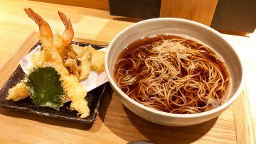 揚げたての天ぷらが楽しめる!天ぷらそば「唐さわ 」の上天盛りそばが豪華でうまくて安い!