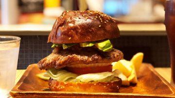 白金高輪のパンパバーガーが最高においしい!ソースが選べてボリュームのあるハンバーガー!
