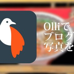 写真をワンステップで手書き風にできるアプリ「Olli」を使ってブログ用の画像を作る