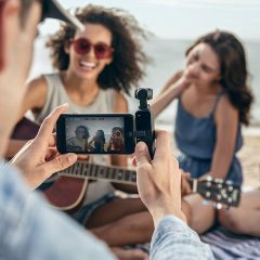 世界最小の3軸ジンバル搭載カメラ「DJI Osmo Pocket」が良さそう!