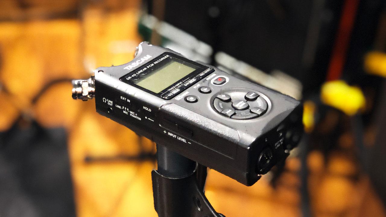プリプロ用のドラムをリハスタで手軽に録音する方法と使用する機材