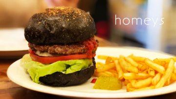 高田馬場「ホーミーズ」のライ麦バンズのハンバーガーが絶品!