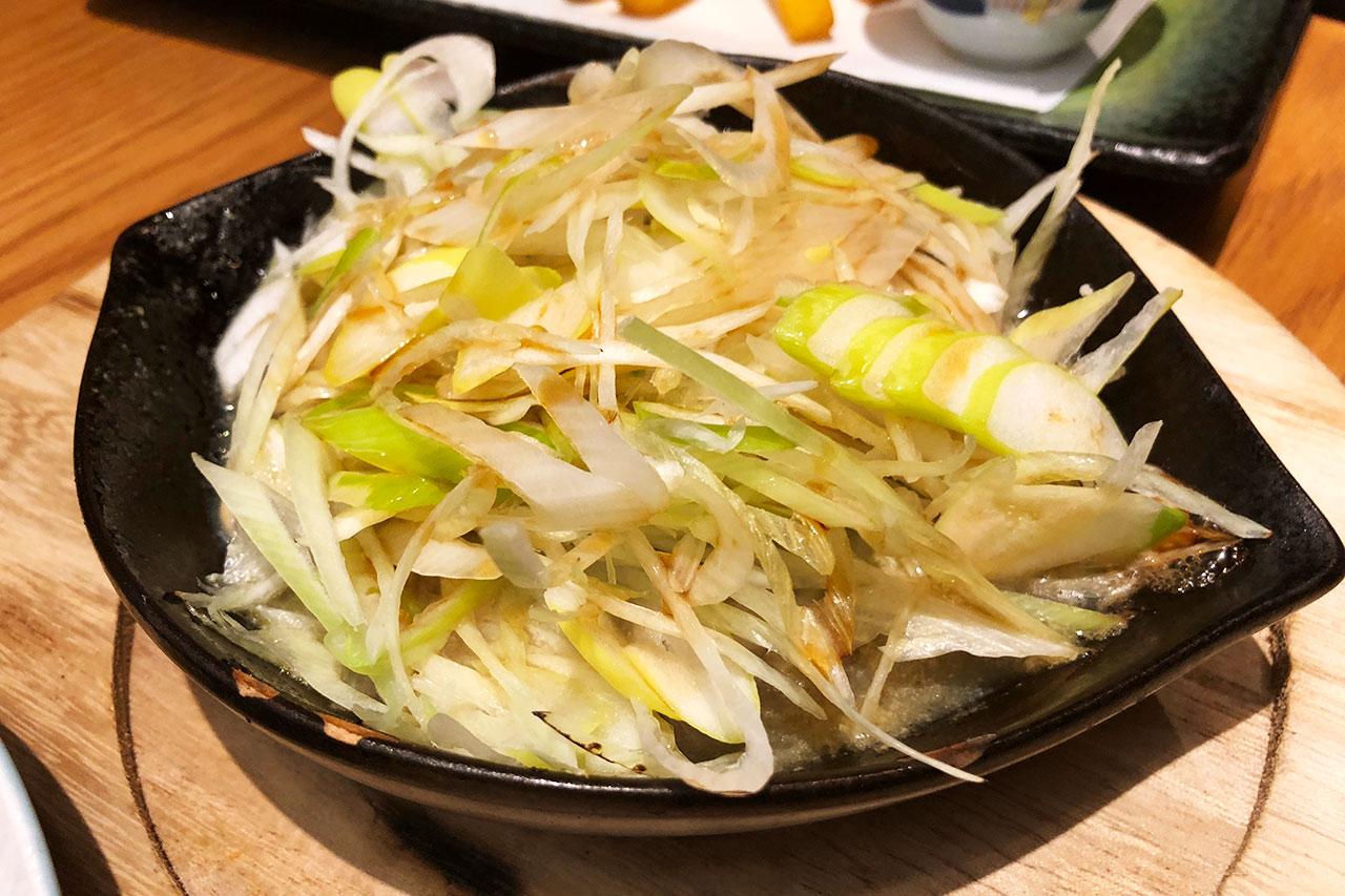 目黒魚金の牡蠣のネギポン酢01