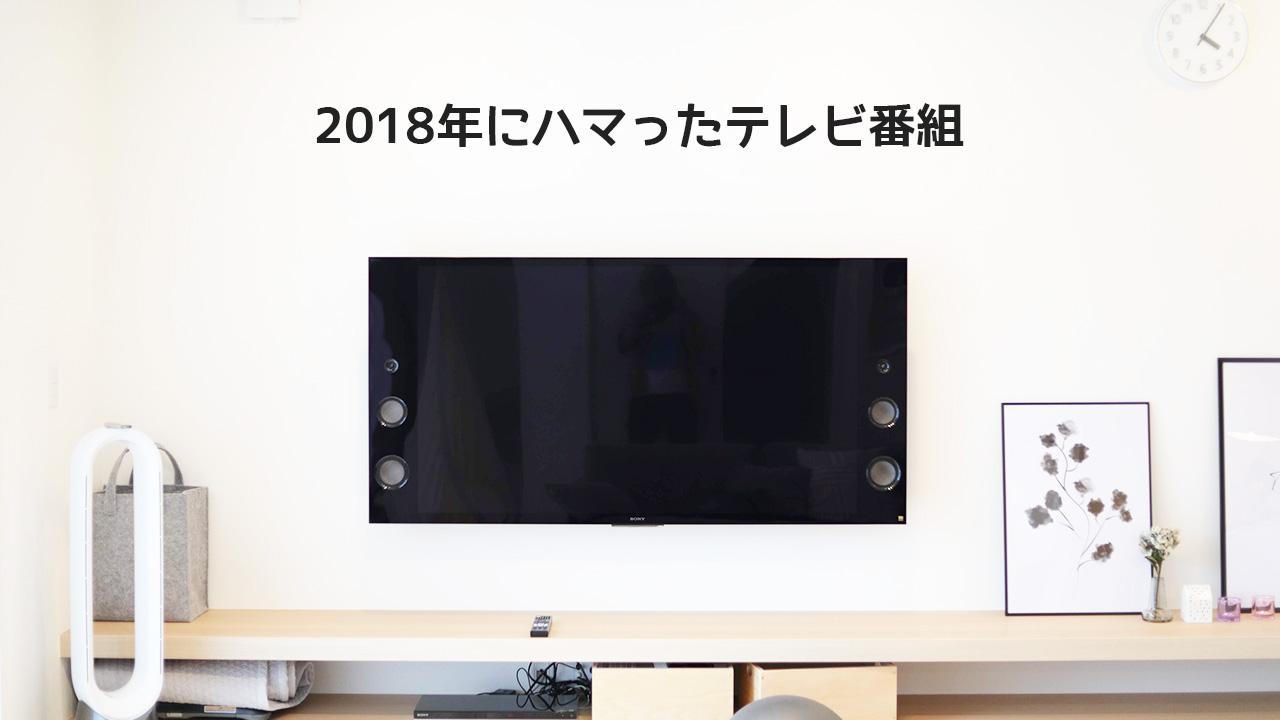 2018年にハマったテレビ番組!青春高校3年C組とキングちゃんが最高でした!