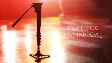 Manfrottoフルードビデオ一脚「MVMXPROA5」が安定性と機動性両方あって使いやすい!