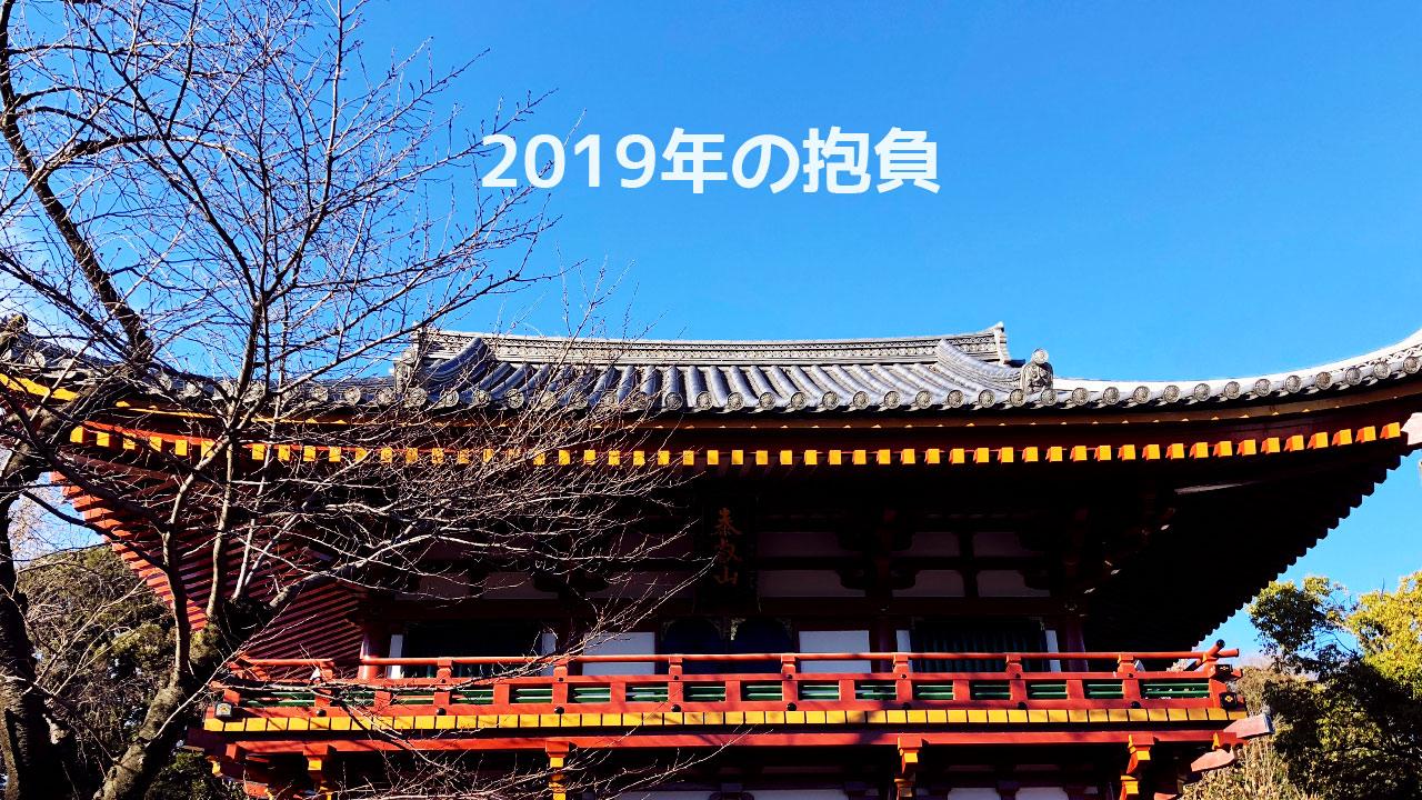2019年の抱負!今年はやりたいことを優先的にやっていきます!