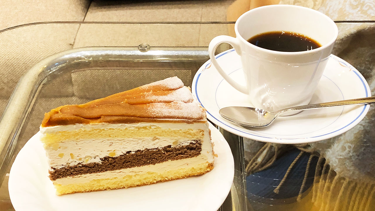 嵐山の喫茶店「カフェライブラ」が雰囲気あっていい感じ!コーヒーもケーキもうまい!