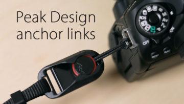 カメラのストラップの付け外しを楽にするピークデザインのアンカーリンクスが便利!