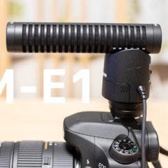 Canon純正ガンマイク「DM-E1」がすっきりとした音質で会話が聞き取りやすくて使いやすい