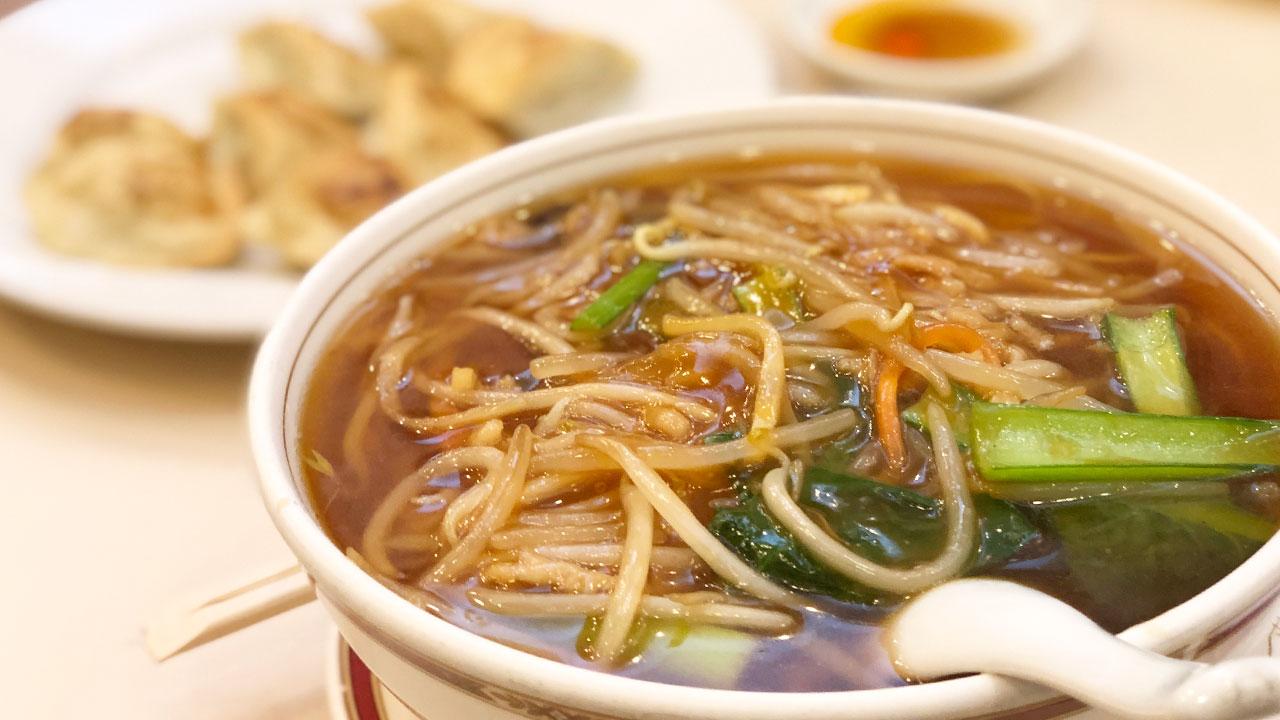 馬車道にある周富輝氏の店「生香園」で絶品広東料理をいただく!炒め物も麺もおいしかった!