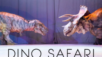 等身大の恐竜が目の前までやってくる恐竜ライブ「DINO SAFARI」が迫力あって最高!