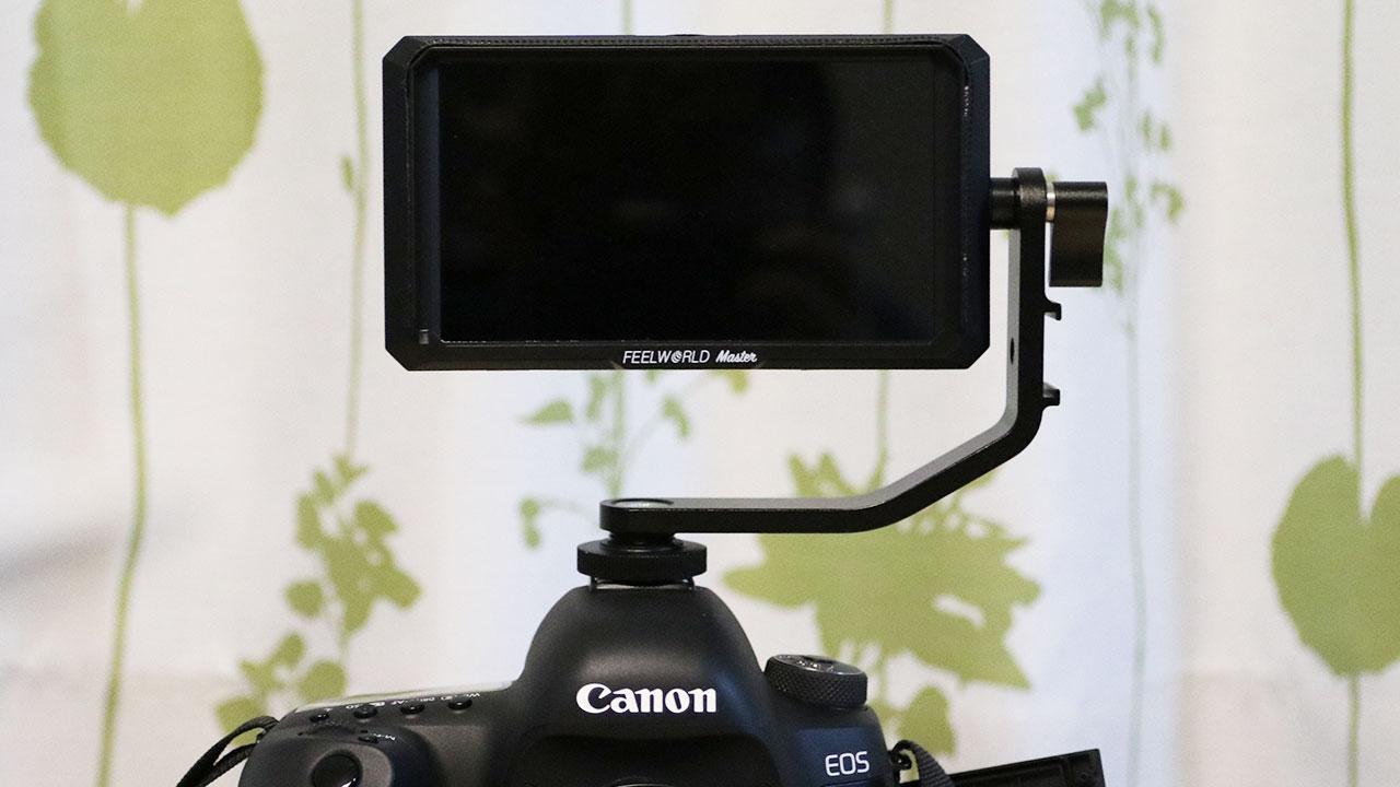 一眼レフカメラで自撮りするために外部モニター「Feelworld Master MA5」を購入しました