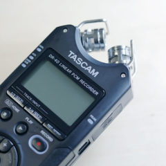 VLog撮影時にリニアPCMレコーダーを使うと音質も良いし撮影時のメリットも多くて良い