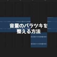 関連記事『動画の音声のバラツキ対策!DAWソフトを使ってコンプなどで音を整える手順』のサムネイル画像