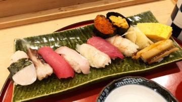武蔵小山の寿司屋「磯はな」のランチが全品半額!うまいしお得すぎるし最高!