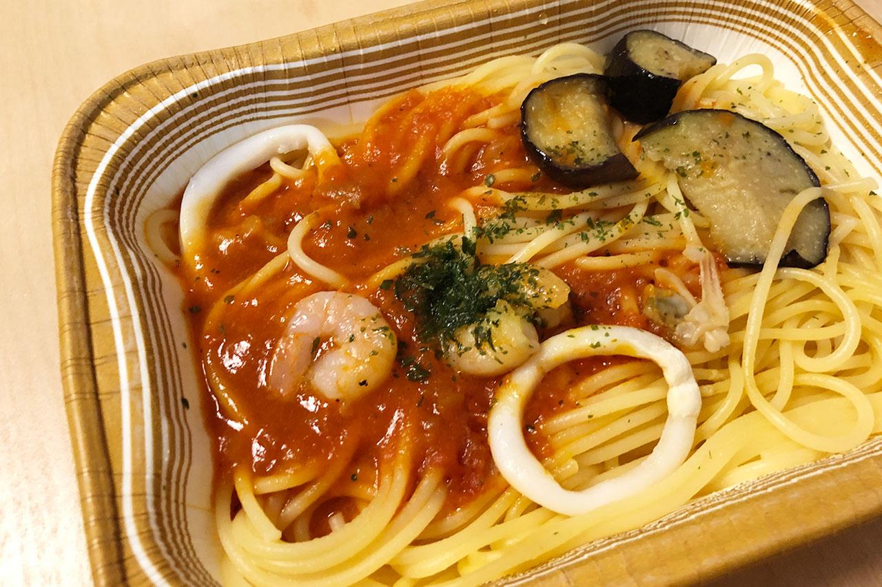 日本製粉の冷凍食品「海の幸のペスカトーレ」完成