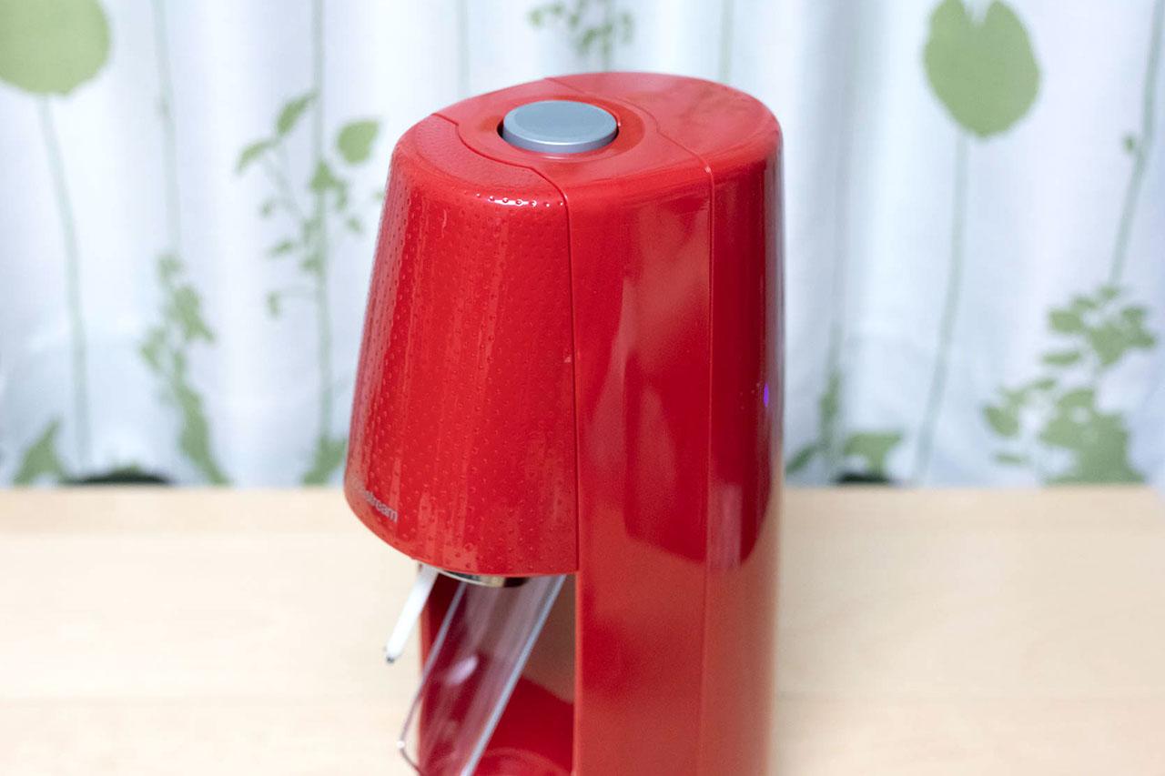 SodaStream MINI (ソーダストリームミニ)のボタン