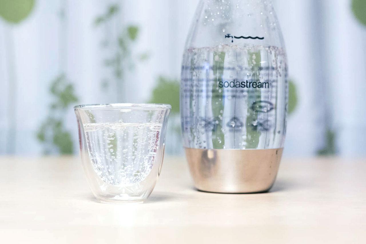SodaStream MINI (ソーダストリームミニ)で作った炭酸水