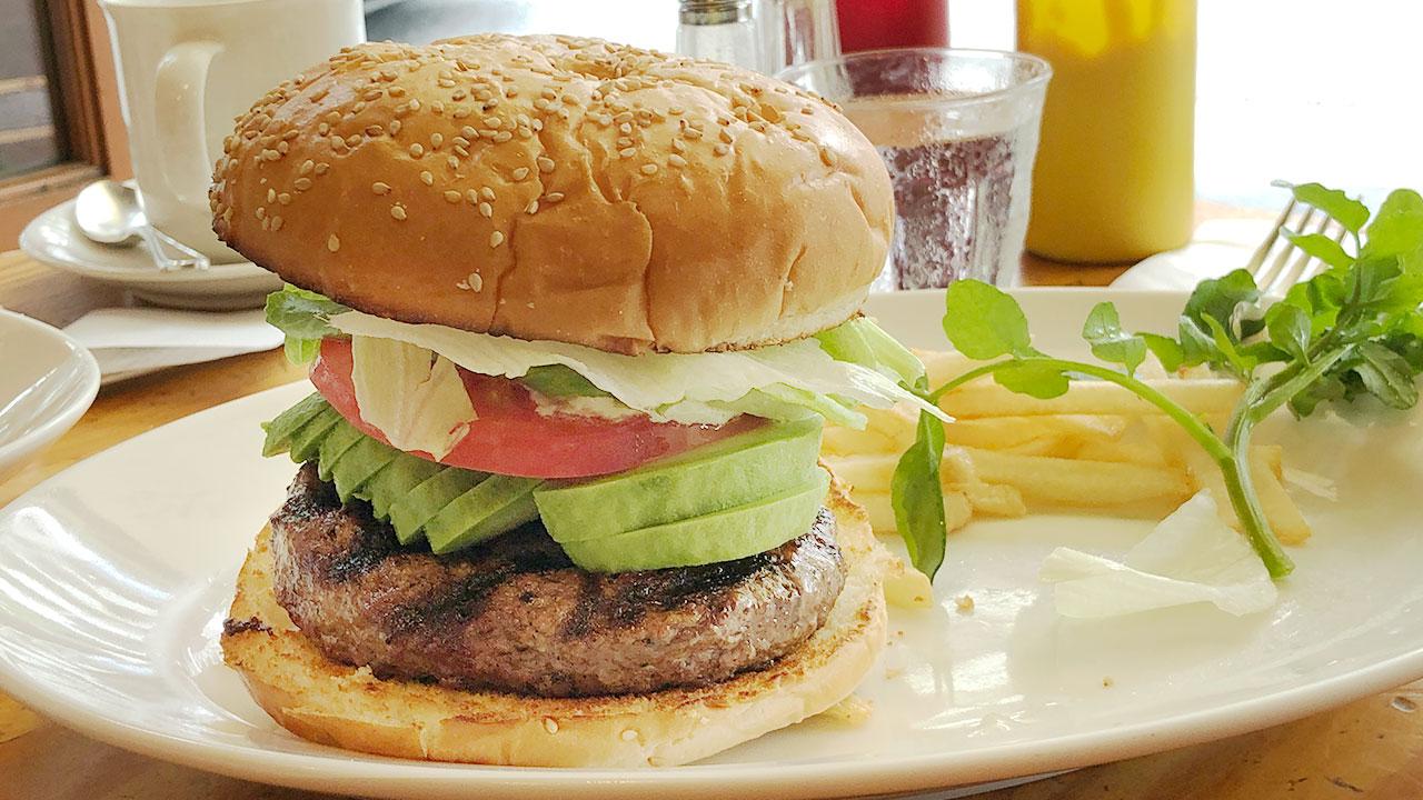 レストランのようなハンバーガー屋さん「ホームワークス」でアボカドバーガーをいただきました