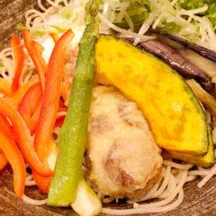 恵比寿の蕎麦屋「箸庵(はしあん)」でランチ!夏野菜蕎麦が最高でした!