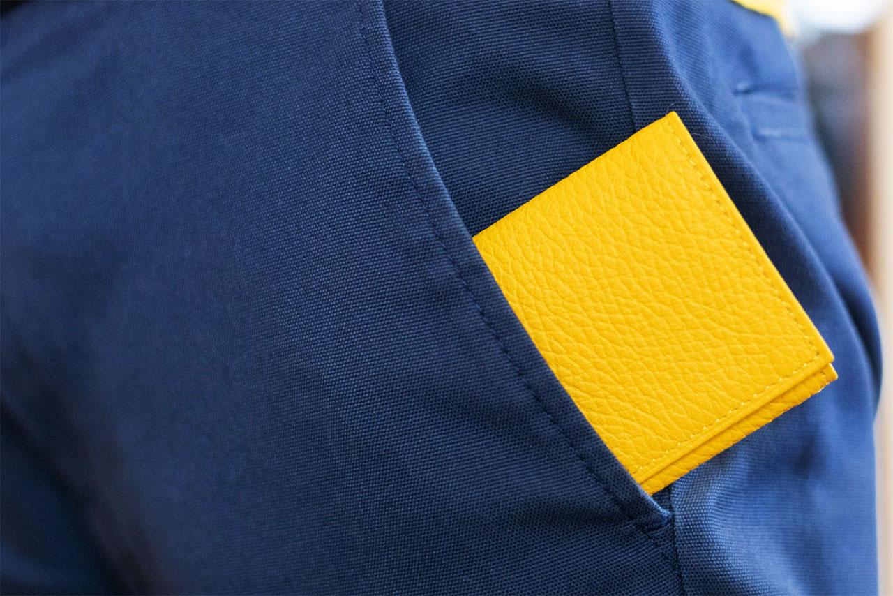 キャッシュレス派が作った財布「PRESSo」がポケットを圧迫しなくていい