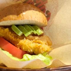 馬車道「洋食 Sakura」のマグロを使ったフィッシュバーガー「SAKURAバーガー」がうまかった!