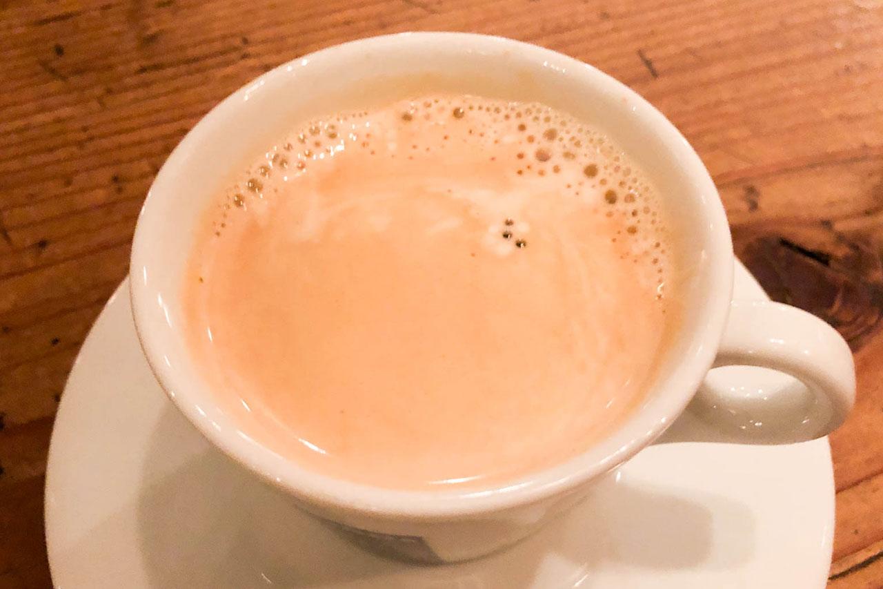 松戸のハンバーガー屋「R's(アールズ)」のコーヒー