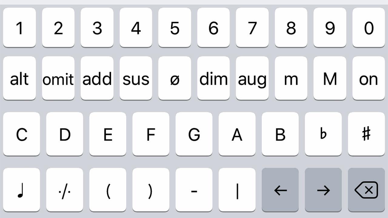 ミュージシャン必携!「Musician Keyboard」は譜面を書くのに便利すぎるアプリ!